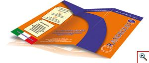 Brochure, cartelline, biglietti da visita, immagine coordinata